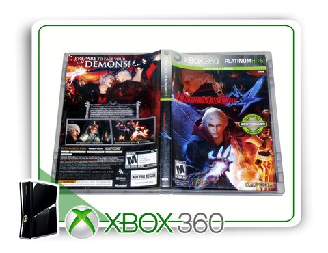 Devil May Cry 4 Original Xbox 360 - Mídia Física na internet