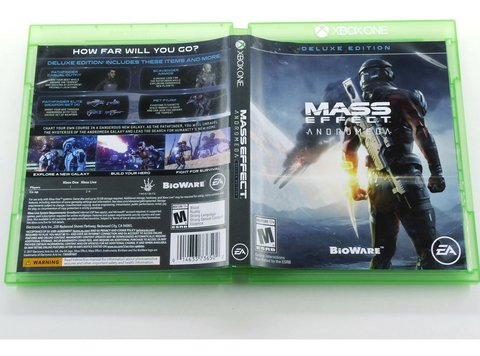Mass Effect Adromeda Original Xbox One - Mídia Física na internet