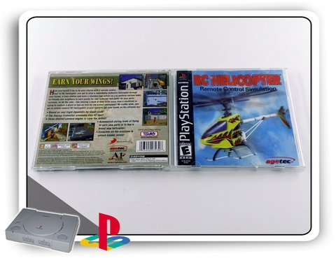 Rc Helicopter Original Playstation 1 Ps1 - comprar online