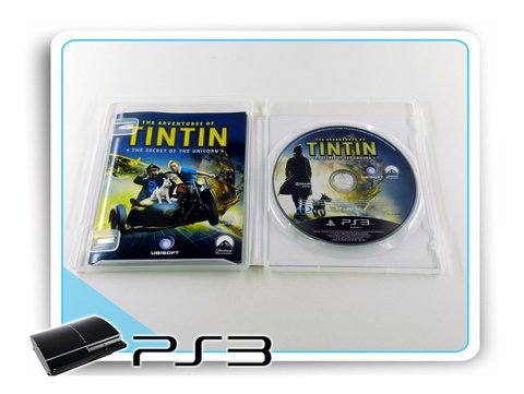 Ps3 The Adventures Of Tintin Original Playstation 3 - comprar online