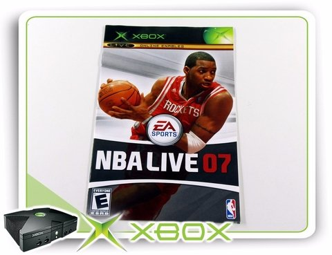 Manual Nba Live 07 Original Xbox Clássico