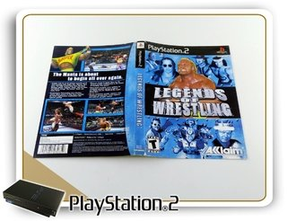 Encarte Legends Of Wrestling Original Playstation 2 Ps2