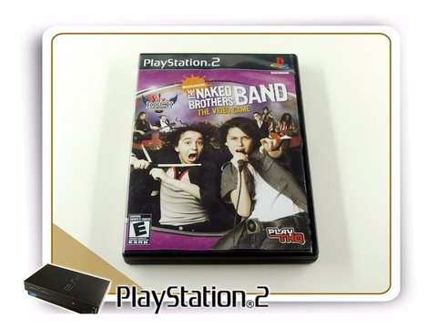 The Naked Brothers Band Original Playstation 2 PS2