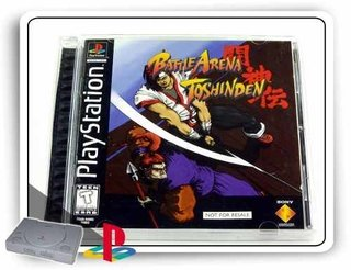 Battle Arena Toshinden Original Playstation 1 Psone PS1