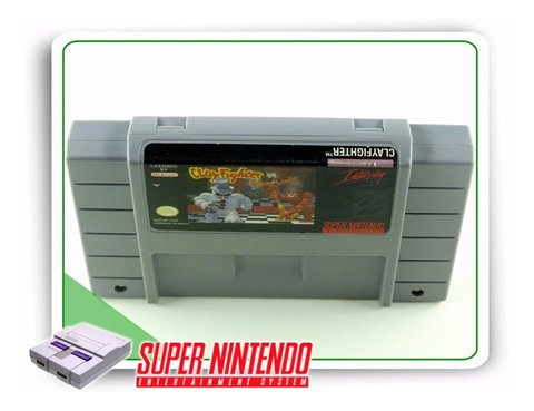 Clayfighter Original Super Nintendo Snes - comprar online