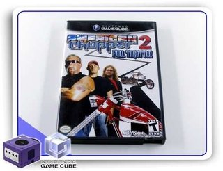American Chopper 2 Full Throttle Original Nintendo Gamecube