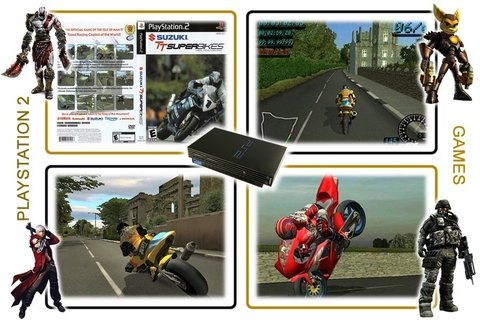 Suzuki Tt Superbikes Original Playstation 2 PS2 - Radugui Store