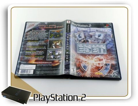 Project Eden Original Playstation 2 Ps2 - comprar online