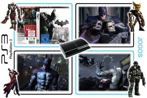 Batman Arkham City Original Playstation 3Ps3 - Radugui Store