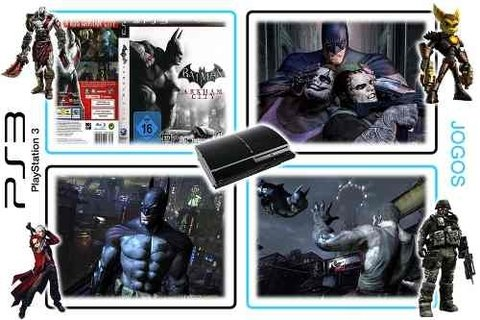 Batman Arkham City Original Playstation 3 PS3 - Radugui Store