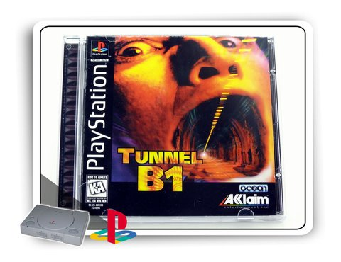 Tunnel B1 Original Playstation 1 Ps1
