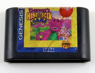 Barneys Hide & Seek Game Original Sega Mega Drive - Genesis
