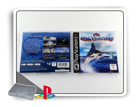 Saltwater Sport Fishing Original Playstation 1 Ps1 na internet