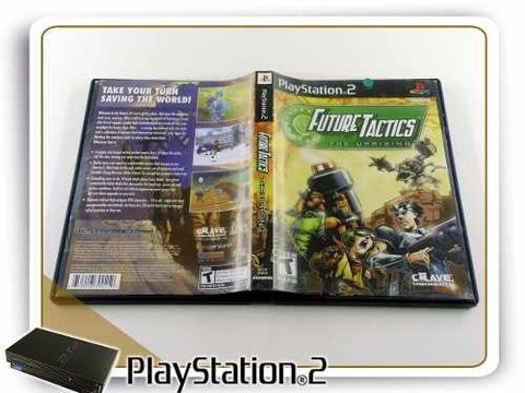 Future Tactics The Uprising Original Playstation 2 PS2 na internet