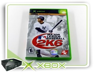 Major League Baseball 2k6 Original Xbox Clássico Ntsc