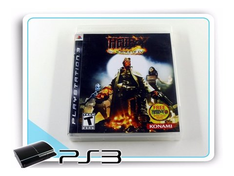 Hellboy The Science Of Evil Original Playstation 3 PS3