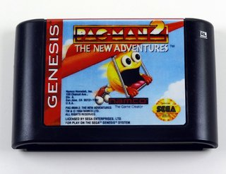 Pac-man 2 The New Adventures Original Mega Drive - Genesis