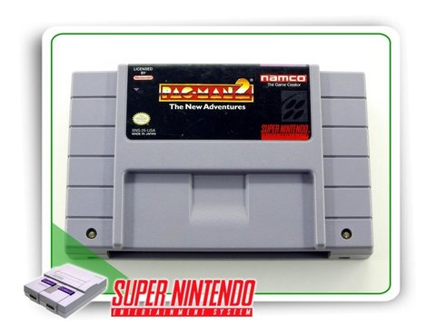 Pac-man 2 The New Adventures Original Snes Super Nintendo