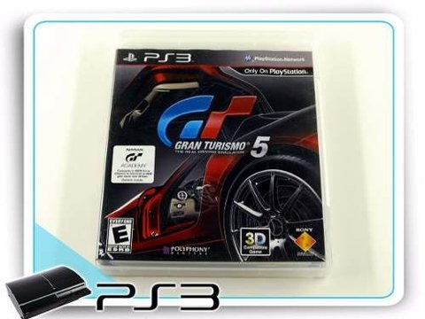 Gran Turismo 5 Original Playstation 3 PS3