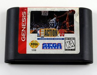 Nba Action 95 Original Sega Genesis - Mega Drive