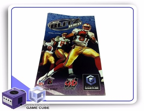 Gc Manual Nfl Blitz Pro Original Gamecube