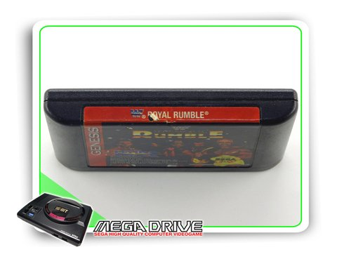 Wwf Royal Rumble Original Sega Mega Drive - Genesis na internet