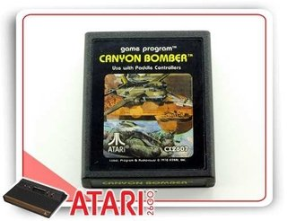Canyon Bomber Cartucho Original Atari