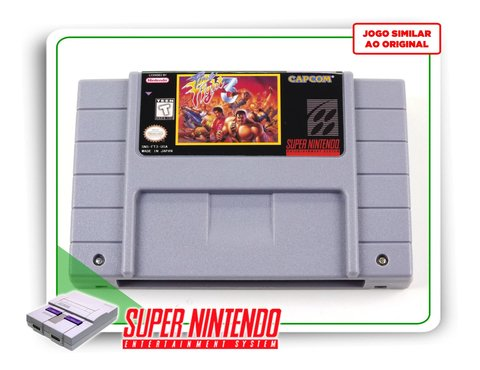 Final Fight 3 Super Nintendo Snes - Novo