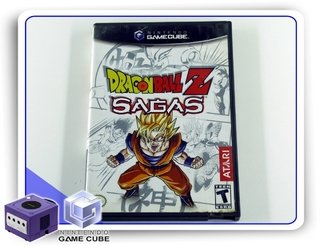 Dragon Ball Z Sagas Original Nintendo Gamecube