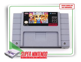 The Combatribes Super Nintendo Snes - Novo