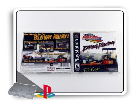 Ihra Drag Racing Original Playstation 1 Ps1 na internet