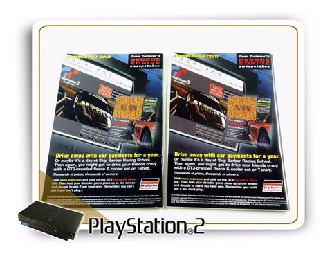 Ps2 Manual Gran Turismo 3 A-spec Original Playstation 2 na internet