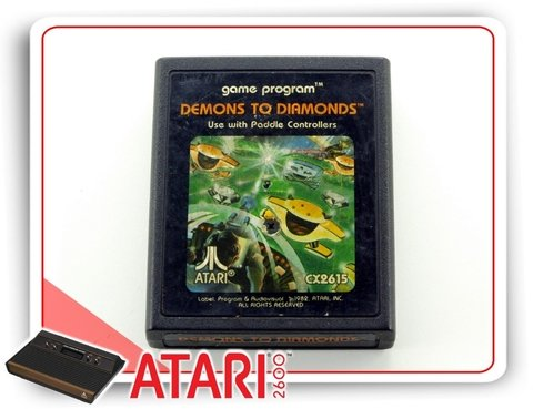 Demons To Diamonds Cartucho Original Atari