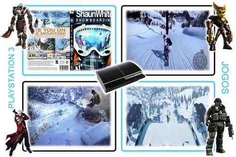 Shaun White Snowboarding Original Playstation 3 PS3 - Radugui Store