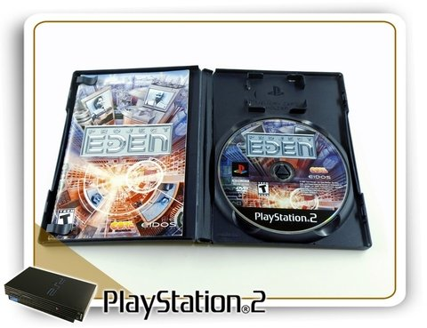 Project Eden Original Playstation 2 Ps2 na internet