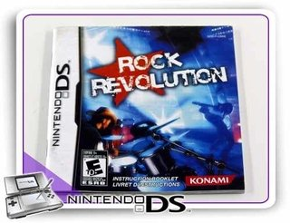 Manual Rock Revolution Original Nintendo Ds
