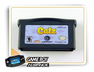 Catz Original Game Boy Advance Gba