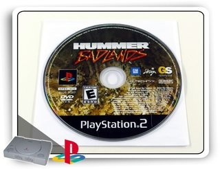 Hummer Badlands Original Playstation 2 Ps2