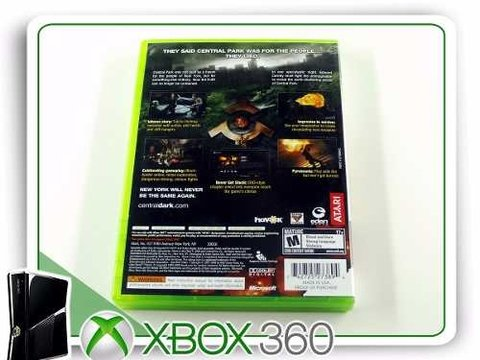 Alone In The Dark Original Xbox 360 - comprar online