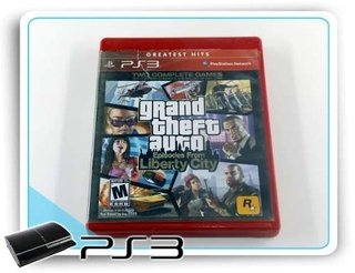 Gta Episodes From Liberty City  Original Playstation 3 PS3