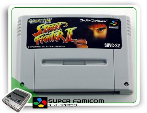 Street Fighter 2 Original Super Famicom Sfc