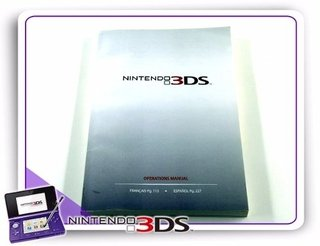 Manual Nintendo 3ds Original