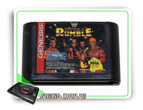 Wwf Royal Rumble Original Sega Mega Drive - Genesis