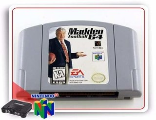 Madden Football 64 Nintendo 64 Original N64