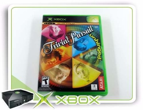 Trivial Pursuit Unhinged Original XBOX Clássico