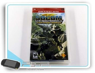 Psp Socom Us Navy F Bravo Original Playstation Portable Novo