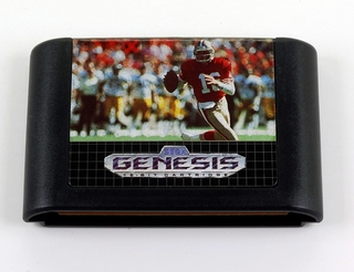 Nfl Sports Talk Football 93 Original Sega Genesis Mega Drive