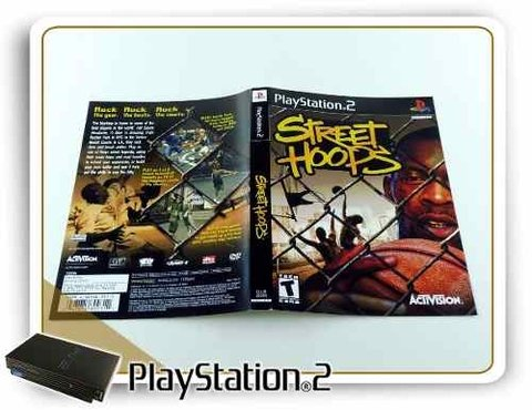 Encarte Street Hoops Original Playstation 2 PS2