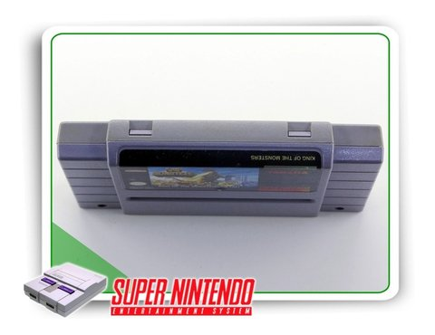 King Of Monsters Original Super Nintendo Snes na internet