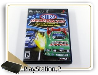 Nhra Championship Drag Racing Original Playstation 2 Ps2